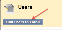 find users to enroll