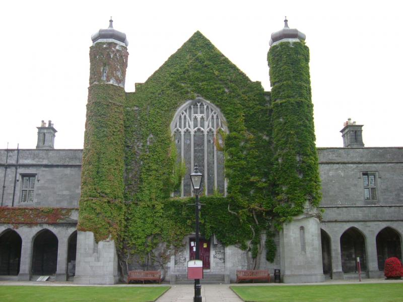 building on University College Galway campus