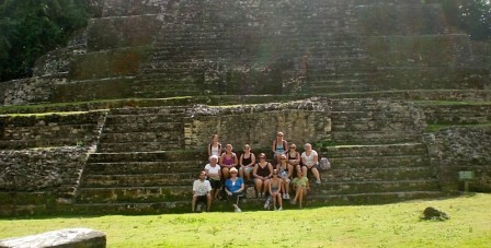 USM Group on Mayan Ruins