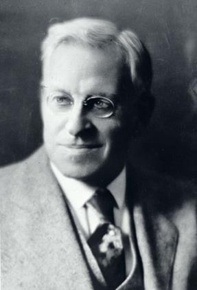Everett Lord. Photo From Boston University Archives