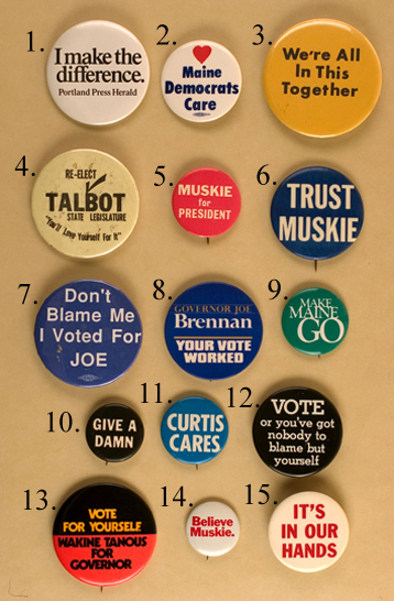 Maine Regional Interest buttons