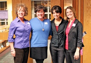 Kristin Espey, Nancy Foss, Dani Bernier, Lauren Webster