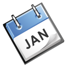 calender image that says Jan