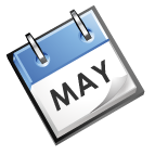 calender image that says May