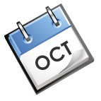 calender image that says Oct