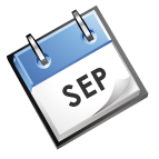 calender image that says Sep