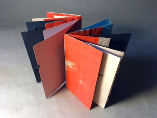 Image of Mark Ford's Blank Accordian Books Open