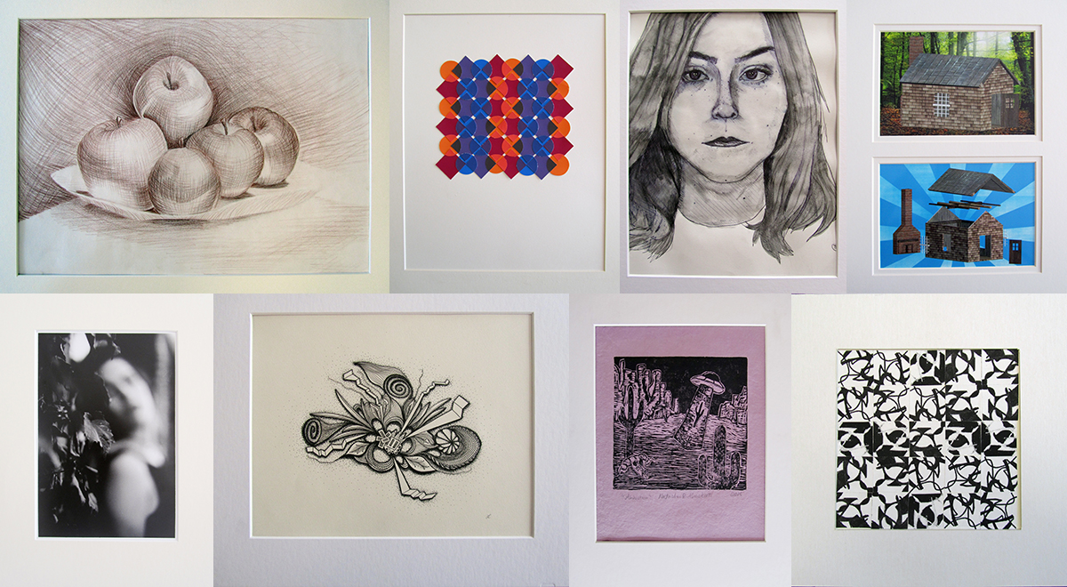 Examples of Matted Student Work