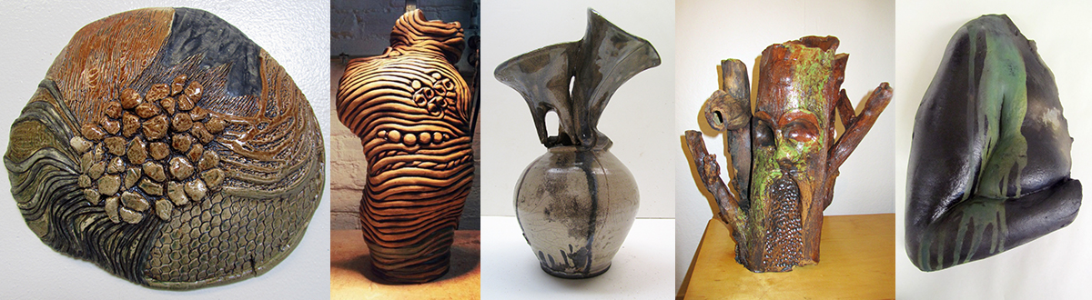 EXAMPLES OF STUDENT CERAMIC WORK