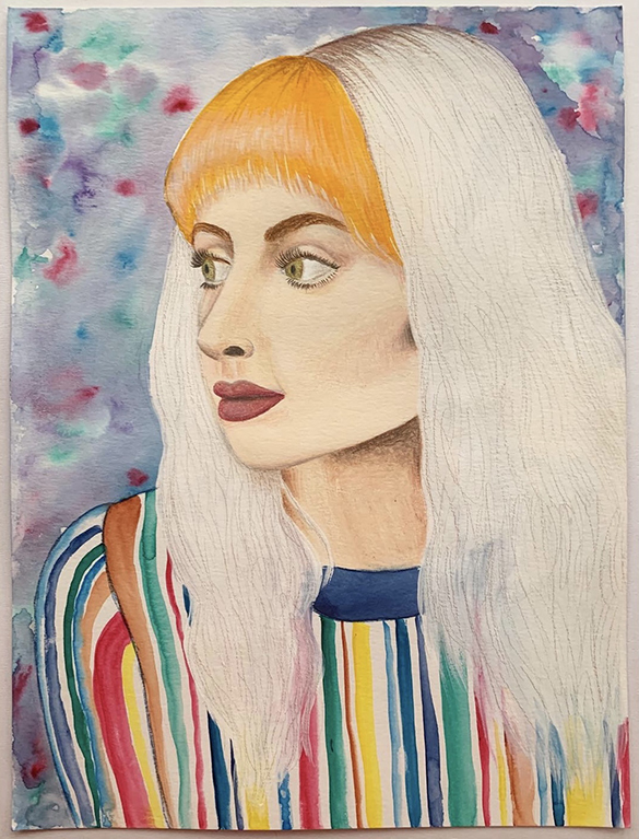 """""""Hayley"""", Drawing from ART 251"""
