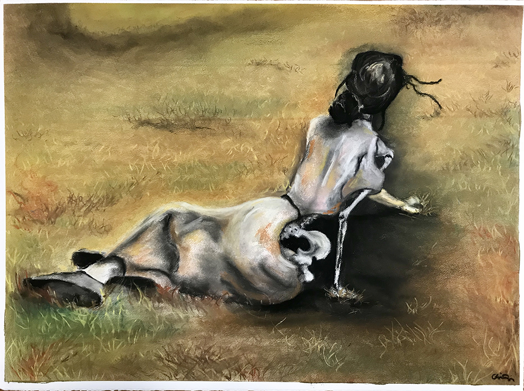 Drawing, Chalk Pastel, 22
