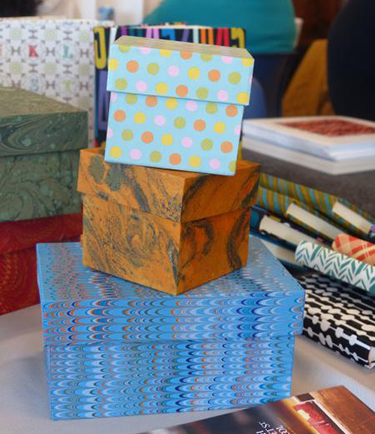 Paper Boxes from North Bennett School in Boston