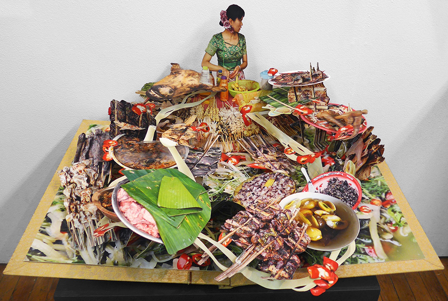 Colette1-Dai Food Pop-up Book-from We are Tiger Dragon People series