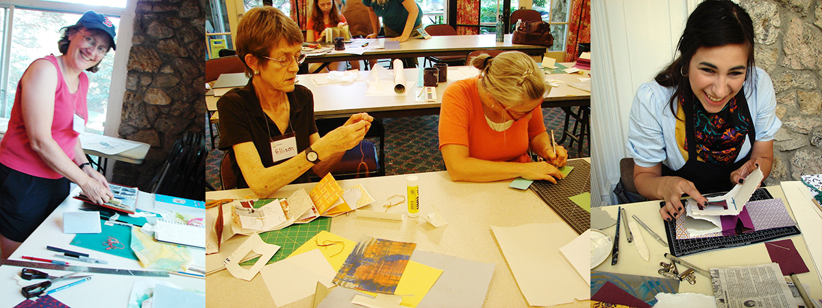 People at Book Arts Workshop
