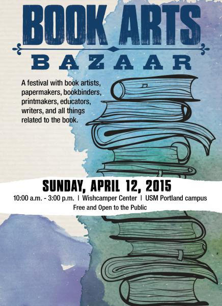 USM Book Arts Bazaar April 12 2015