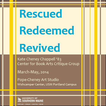 USM Book Arts Rescued, Redeemed, Revived