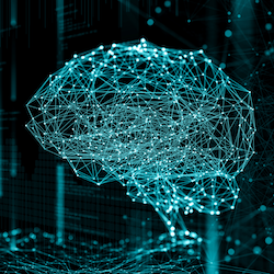 A digital image of a neural network