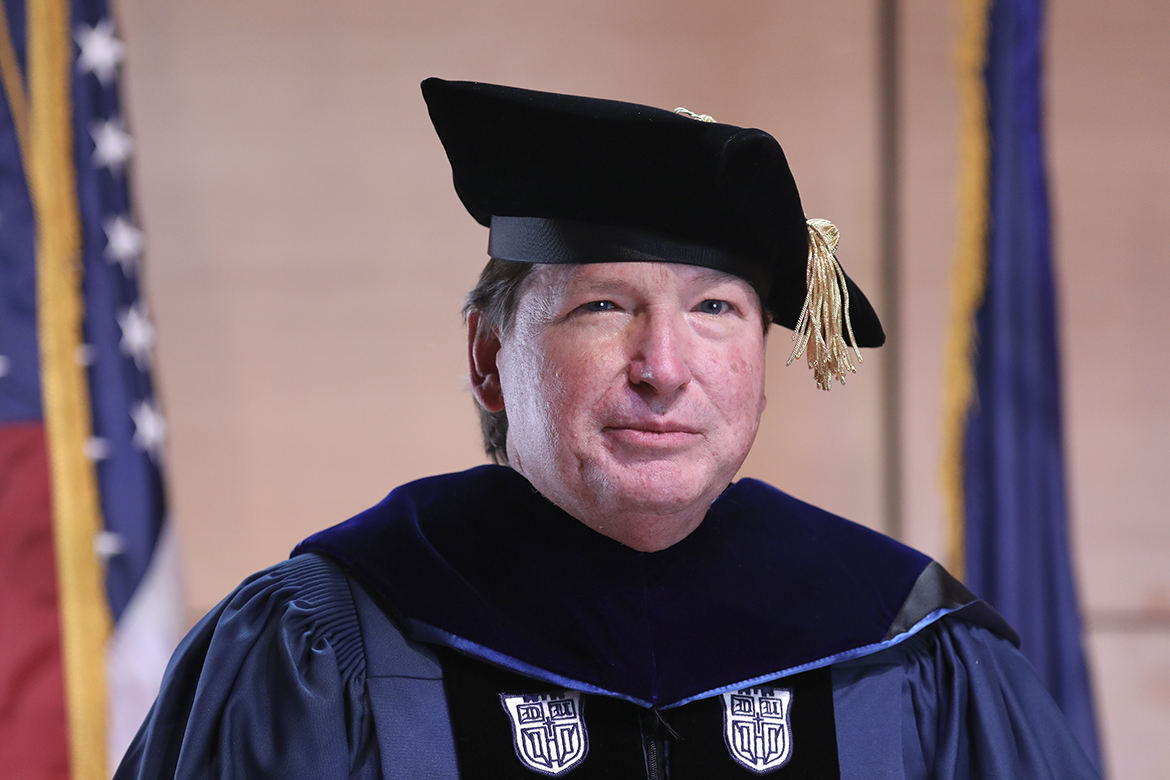 A photo of Distinguished Professor Shelton Waldrep