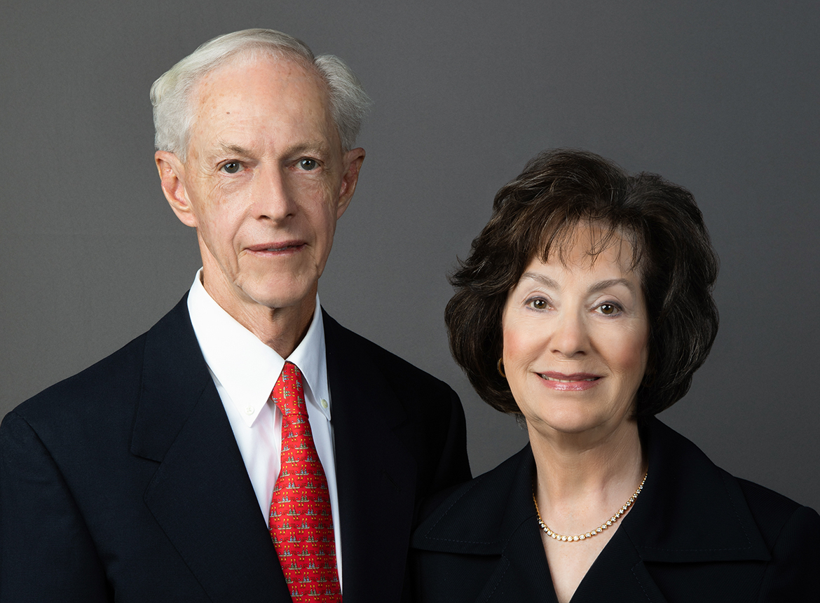 A photo of Beverly and David Wilson