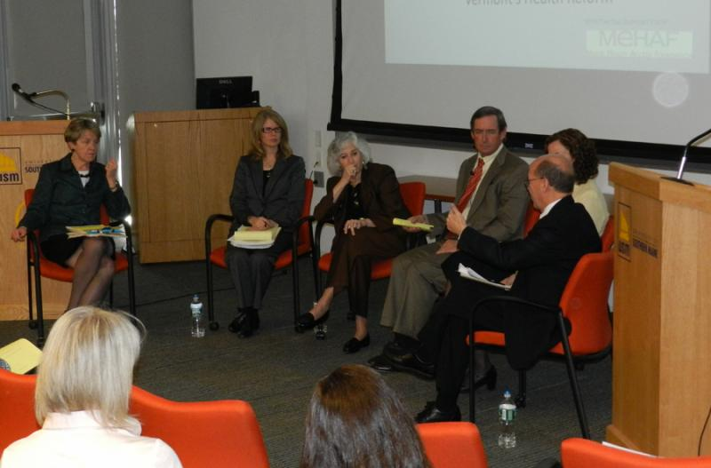 DHHS Commissioner Mary Mayhew and experts discuss MaineCare