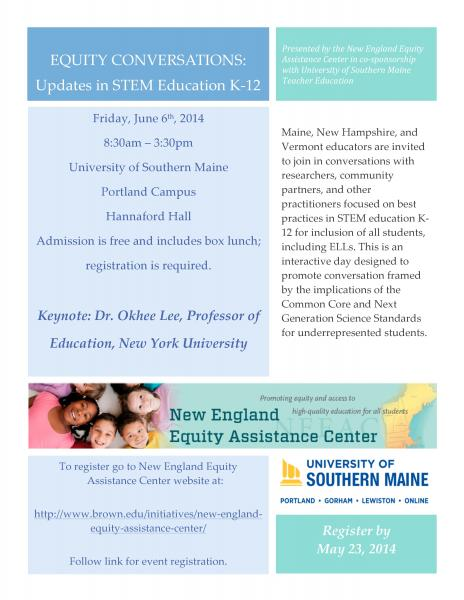 Equity Conversations Conference Flyer