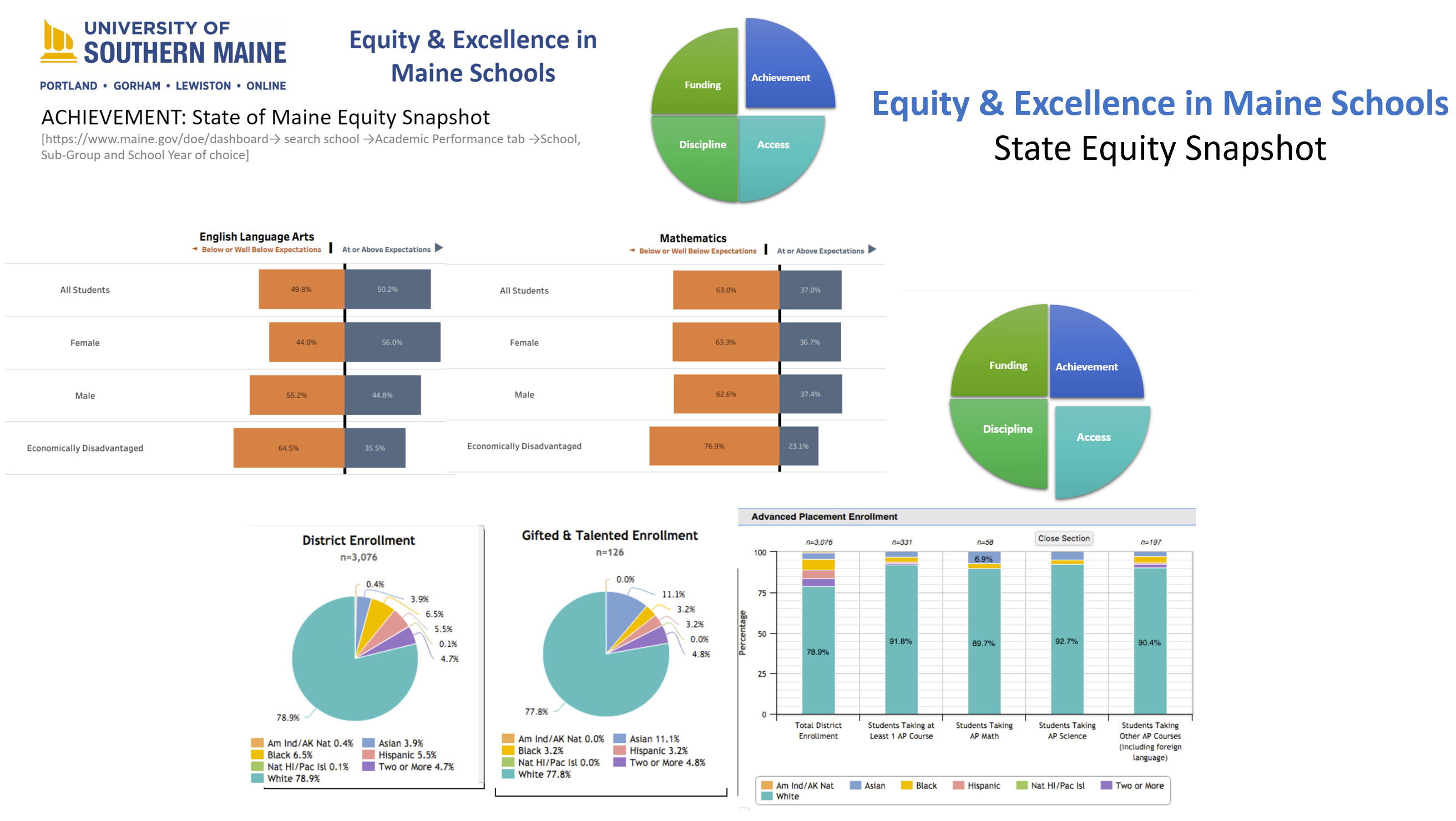 State Equity Audit example