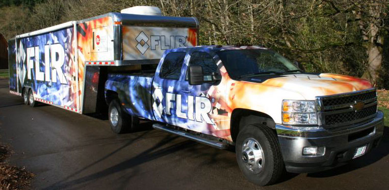 FLIR's Mobile Training Unit