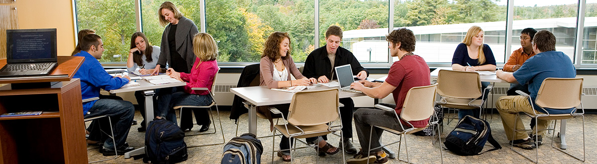 Students in classroom.