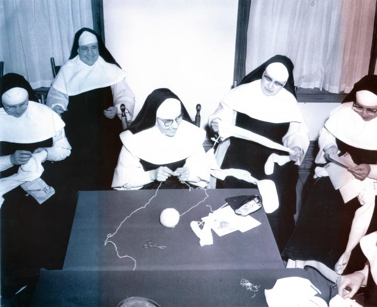 Dominican Nuns, c1965