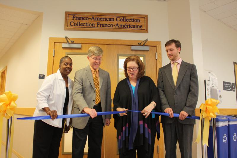 Franco Collection Ribbon Cutting