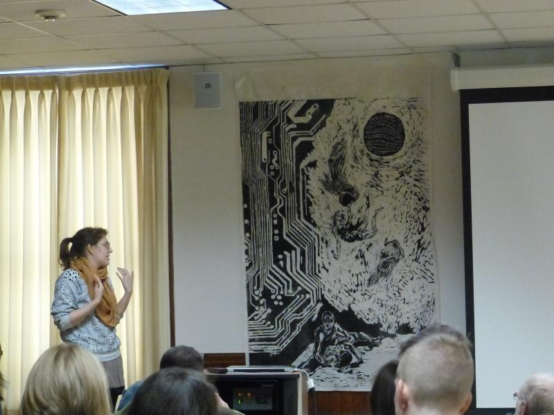 USM art students present their woodblock prints