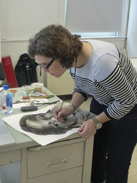 USM Artist-in-Residence Traci Molloy