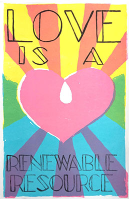 Love is a Renewable Resource