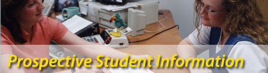 Prospective Students header image