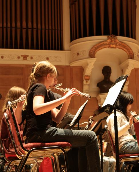 Portland Youth Wind Ensemble player