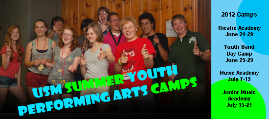 USM Summer Youth Performing Arts Camps