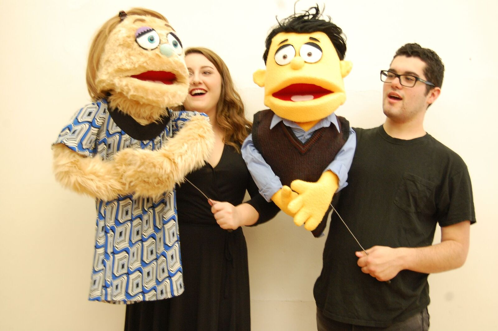 2016-10-28 Avenue Q-Rachel Grindle (Kate Monster) and Taylor Gervais (Princeton)