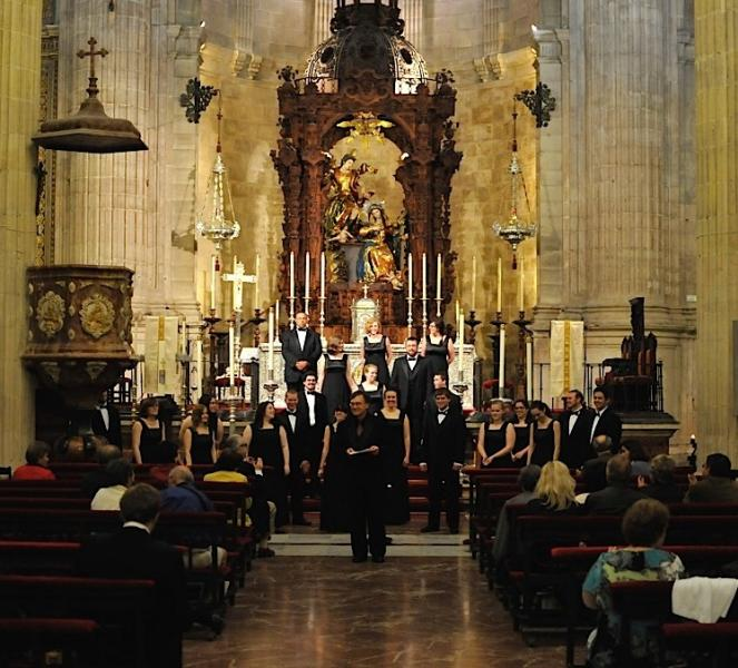 Chamber Singers Spain Tour