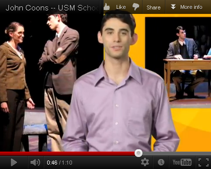 John Coons '10 on YouTube