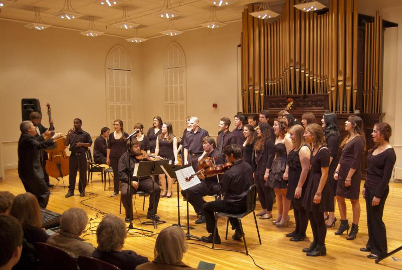 USM Vocal Jazz Ensembles