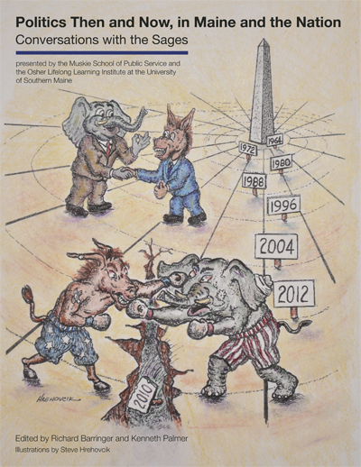 Cover of Politics Then and Now Publication