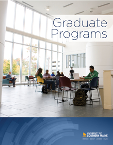 The cover of the 2019-2020 Graduate Programs Viewbook