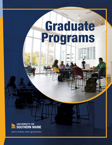 The cover of the 2020-2021 Graduate Programs Viewbook