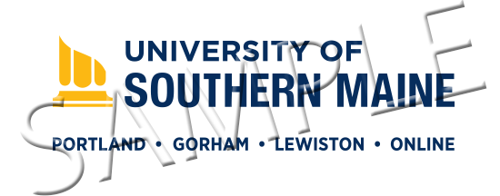 Sample University of Southern Maine access points logo