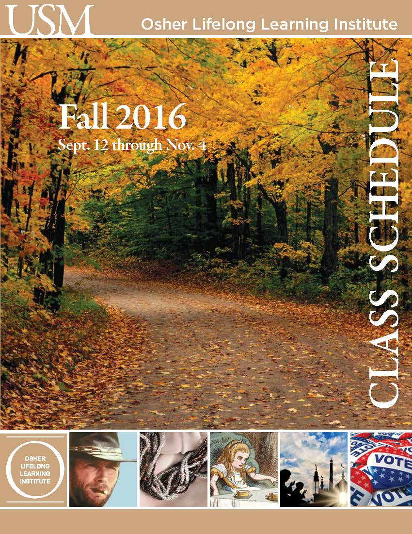 OLLI Fall 2016 Catalog Cover