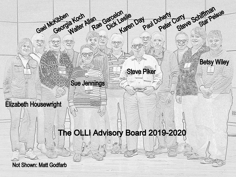 OLLI Advisory Board 2019-2020