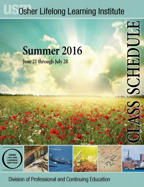 OLLI Summer 2016 Catalog cover