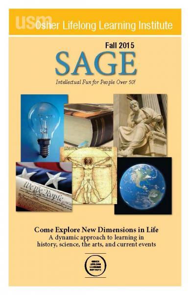 SAGE Fall 2015 Cover