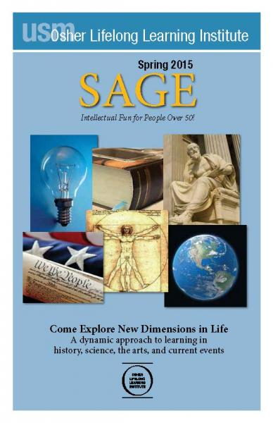 SAGE Spring 2015 Cover