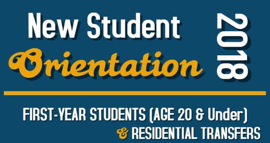 First-Year Students (aged 20 & Under & Residential Transfers)